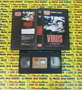 VHS film VIRUS Newton Garfeeld o'Neil Dawn GENERAL VIDEO 332 (F256) no dvd