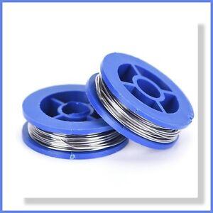 2pcs 63/37 tin/lead Rosin Core Solder Wire 0.8mm - 1.7m per Roll