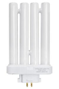 27w PLS Daylight Bulb For Lifemax Reading Lamp, Base GX10Q-4 4 Pin CFL Tube Bulb