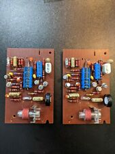 (2) Re-Capped Revox 1.077.720 Reproduce Amplifier Cards for A77 (matched pair)