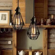 Retro Ceiling Lights Brown LED Chandelier Kitchen Mini Pendant Lighting Bar Lamp