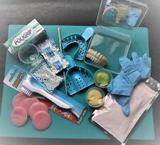 Make Your Denture .Denture Kit full upper/ full lower False Dentures teeth