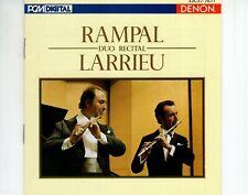 CDRAMPAL duo recital LARRIEUDENON JAPAN EX+  1985 (A4429)