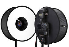Foldable Universal Flash Macro Ring Softbox Round Diffusers for Canon Nikon Sony