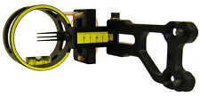 New Allen Aluminum Guide 3 Pin Bow Sight,Fiber Wrapped Optic Archery,15095