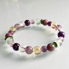 ME / CHRONIC FATIGUE SYNDROME SUPPORT - CRYSTAL HEALING GEMSTONE BRACELET