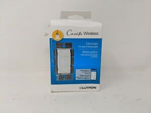 Lutron Caseta Wireless Dimmer, 150W, White, PD-6WCL-WH