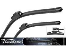 """For Renault - Grand Scenic MPV 2017-> Front Wiper Blades UniBlade (32"""" 28"""")"""