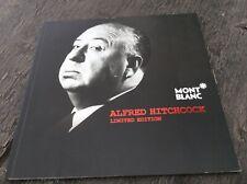 Montblanc Alfred Hitchcock Dealer Brochure Booklet Documents