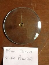 Barometer replacement glass - 85mm Domed with pointer