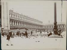 Italie, Venise, Vue de la Place St-Marc, ca.1905, vintage citrate print Vintage