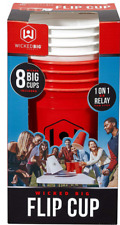 Wicked Big Sports Supersized Flip Cup Outdoor/Indoor Tailgate or Drinking Game