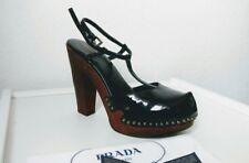 Prada Schuhe, Kalbslackleder, 100% Original Gr.41