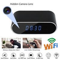 1080P HD Alarm Clock Camera WiFi Wireless Baby Monitor Night Vision Security DVR