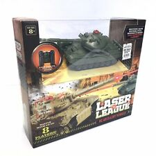Laser League RC Artillery Vehicle Tank Sound And Motion RARE Toy Collectors NEW