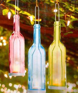 Affari Windlicht Teelichthalter Glas Kerzenhalter stehend hängend Garten Frühlin
