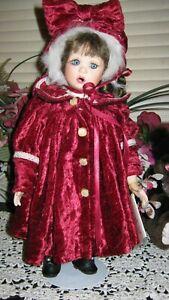 Marie Osmond Christmas Carolyn Doll        M-261