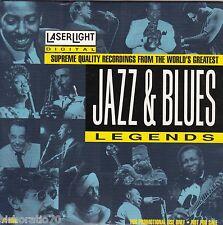 JAZZ & BLUES Legends CD - 15 Supreme Quality Recordings - LaserLight - PROMO