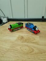 Thomas tomy trackmaster trains. Percy and Thomas