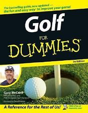 Golf For Dummies (Golf for Dummies)-ExLibrary