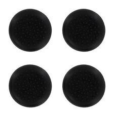 4 x noir silicone thumb stick grip cover caps pour Contrôleur Xbox 360