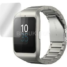 2 X LCD Invisible Screen Protector Military Shield for Sony SmartWatch 3 SWR50