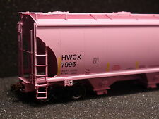 HO AMERICAN LIMITED ALM 1098 TRINITY 3281 2 BAY COVERED HOPPER HWCX #7997