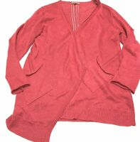 Eileen Fisher Linen Open Cardigan Size Medium M