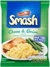 Batchelors Smash Cheese & Onion Instant Mash Potato 107g