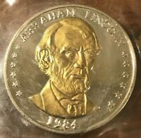 5 Coins For $7.75 - 1984 Abraham Lincoln Double Eagle Commemorative Coins