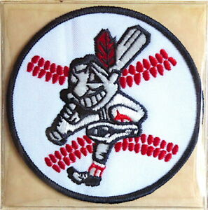 1975 CLEVELAND INDIANS Willabee & Ward LOST TREASURES BASEBALL TEAM PATCH ~ ONLY