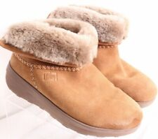 FitFlop Shearling Lined Ankle Bootie Micro Wobble Board Winter Boot Womens US 5