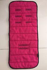LINER & Soft Fabric PROTECTOR For Pram & Stroller - REVERSIBLE HOT PINK BLACK