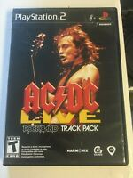 AC/DC Live: Rock Band Track Pack (Sony PlayStation 2, 2008) FREE SHIPPING Tested
