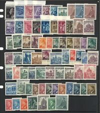 Bohemia & Moravia 72 Different Stamps All Mint Unhinged MUH