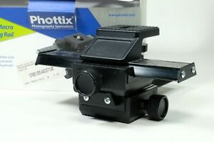 Phottix 4 way Macro Slider!!! IN Box