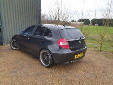 BMW e87 120i M sport breaking black 6 speed 2litre petrol