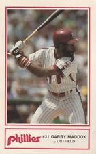 FREE SHIPPING-NRMINT-1985 Cigna and Police Department  PHILLIES GARRY MADDOX