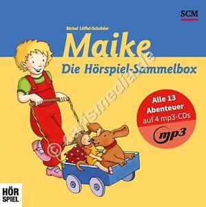 CD-BOX: MAIKE - Alle 13 Abenteuer - MP3-Hörspiel-Sammelbox - 3-6 Jahre °CM°