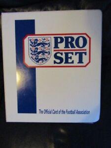 Pro Set 1990 1991 Official Fixture  Football Cards ~ Binder Variants (ef1)