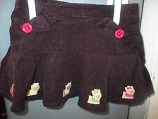 Purple Corduroy Skirt With Yorkies From Gymboree-Girls Size 6-12 Months
