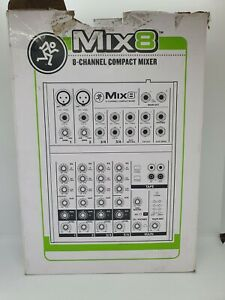 Mackie Mix8 Compact Studio Mixer