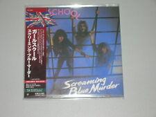 GIRLSCHOOL screaming blue murder +1 +10 BBC TRKS JAPAN mini lp SHM CD 1982 SEAL