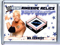 WWE Mr Kennedy 2007 Topps Heritage Event Worn T-Shirt Ringside Relic Card 4Color