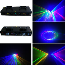 4 lens 800mw RGYV DMX disco dj Party laser stage Lighting show equipment project