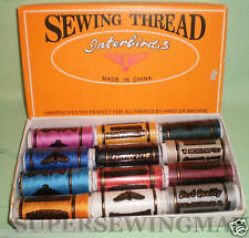 All Purpose Sewing & Quilting 100% polyester Thread 12 Spools 400 yard each roll