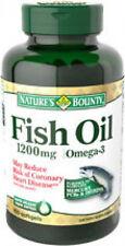 100 Fish Oil 1200mg Omega-3 Nature's Bounty Dietary Supplement Vitamin Heart NEW
