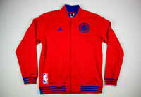 NEW adidas Los Angeles Clippers - Men's Red/Blue Jacket (Multiple Sizes)