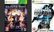Saints Row IV Commander In Chief Edition & alpha protocol xbox360 PAL NEW&SEALED