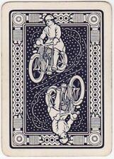Playing Cards 1 Single Swap Card - Old Vintage Wide MOTORBIKE MOTORCYCLE BIKE